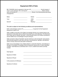 bill of sale template car bill of sale form
