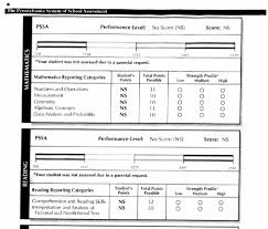 blank report card templates opt out report card busted pencils pssa2 jpg