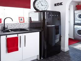 tag for black and white kitchen ideas and red kitchen backsplash