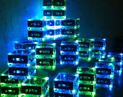 Lighted Centerpiece Ideas by Pink Punk Rock Wedding Or Party Table Lighted Centerpiece For