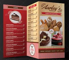 pages menu template 27 bakery menu templates free sle exle format