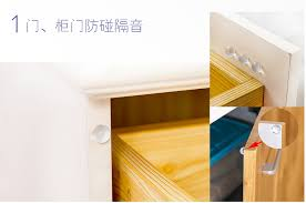 kitchen cabinet door rubber bumpers 200pcs new self adhesive clear hemispherical rubber feet bumpers