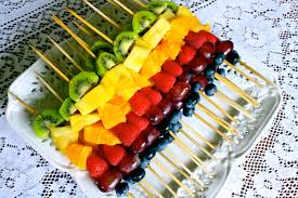 fruit arrangements for fresh fruit skewers appetizers fruit skewer