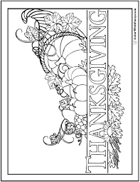 Thanksgiving Fun Pages 68 Thanksgiving Coloring Page Customizable Pdfs