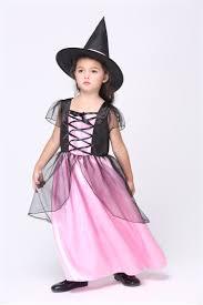 child s halloween costume baby girls cute witch pumpkin halloween fancy dress costume kids