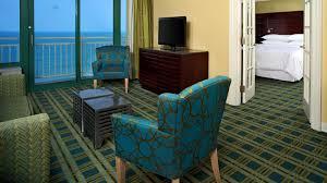 Bedroom Furniture Va Beach One Bedroom Deluxe Suite Sheraton Virginia Beach Oceanfront Hotel