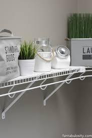 Laundry Room Decorations by Diy Laundry Room Shelving U0026 Storage Ideas Fantabulosity