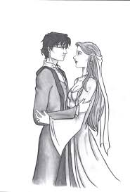 ginny weasley coloring pages the wedding harry ginny by k laine on deviantart