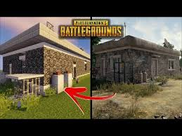 pubg 2 player minecraft how to build a pubg house 2 player unknown