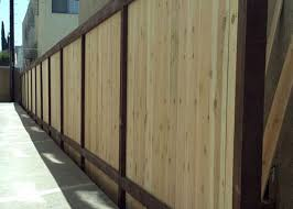 Wooden Ca by J U0026j Wood Vinyl Fence Gallery Wooden Fence Installation Los