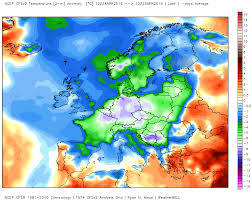 Europe Temperature Map Anomalous Cold In Europe At The End Of April Leading To Disasters