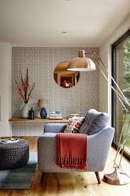 home interior wallpapers geometric wallpapers to wooden leg mid century and living rooms