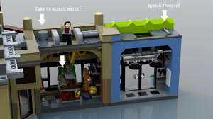 jurassic world jeep lego lego ideas jurassic world main street mayhem