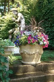 unique potted garden flowers best pots ideas on pinterest plants