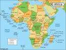 Map of Africa with Facts, Statistics and History