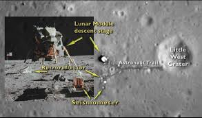 American Flag On The Moon Nasa Probe Sees Apollo 11 Moon Landing Site From Space Video