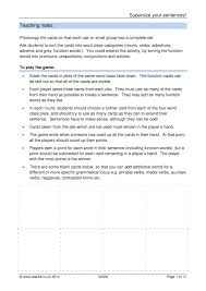 Identifying Adverbs And Adjectives Worksheets Ks3 Word Classes Teachit English