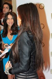 back of the hair long layers long hair with layers i like how the under layer starts further