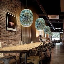 What Is Pendant Lighting 3d Colored Glass Shade Bar Pendant Lights