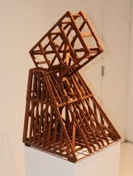 geometric wood sculpture ronald bladen sculpture of the 1960s and 70s the rail