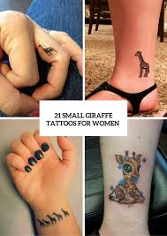 Giraffe Tattoos Meaning 21 Small Giraffe Ideas For Styleoholic