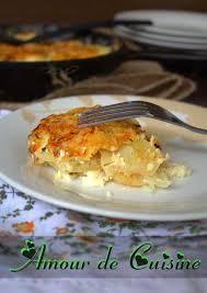 cuisine panais recette de gratin de panais amour de cuisine