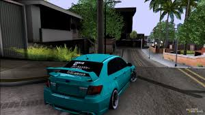 stanced subaru hd subaru impreza stance works for gta san andreas