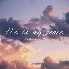 he is my peace faith inspiration quotes bible https twitter