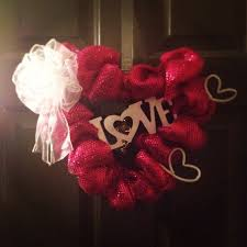 Valentines Day Decor Hobby Lobby by 36 Best Deco Mesh Images On Pinterest Deco Mesh Wreaths