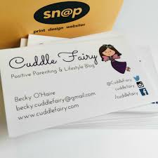 Print On Business Cards My New Business Cards From Snap Galway U2022 Cuddle Fairy