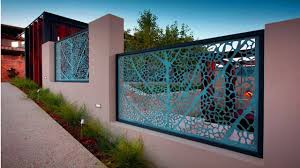 modern home fence design wall fence designs for homes youtube