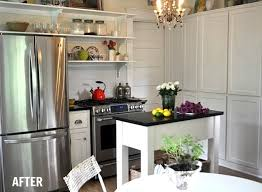 Kitchen Makeover Before And After - kitchen makeovers on a budget before and after before u0026 after