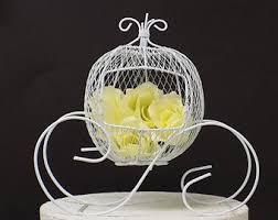 Cinderella Wire Carriage Centerpieces by Cinderella Carriage Centerpiece Etsy