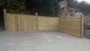 fencing ireland dublin wicklow wexford sheds fencing garages