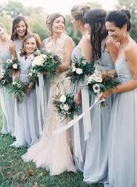 blue gray bridesmaid dresses best 25 dusty blue bridesmaid dresses ideas on blue