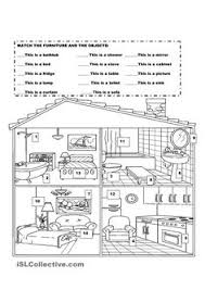 label the parts of the house english pinterest house