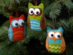 30 the diy felt ornaments for owl ornament