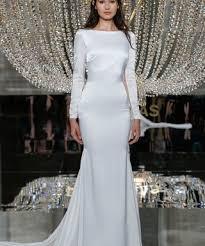 Long Sleeved Wedding Dresses Long Sleeve Wedding Dresses At Bridal Fashion Week Spring 2018