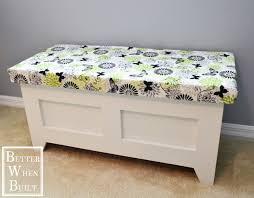 diy storage bench u2022 better when built