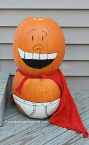 painted captain underpants pumpkin u2013 the pinterested parent