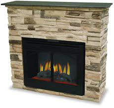 fireplace with tv on top stacked stone plasma inset daydreaming