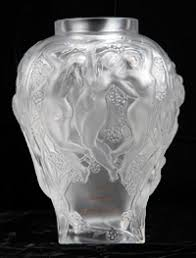 Lalique Vase With Birds Goldberg Coins And Collectibles