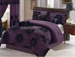 Plum Bedding And Curtain Sets Purple Bedding And Curtains Eshcol Co