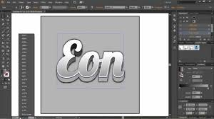 how to make good looking 3d text in adobe illustrator cs6 youtube