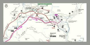 Yosemite Valley Map Destination Yosemite National Park High Sierra Loop