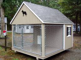 Doghouse For Large Dogs Small Room Large Roof Covering Minus The Fence Taller For Shed