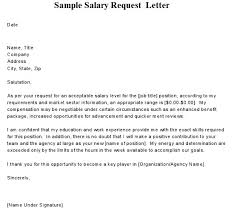 compensation requirements in cover letter cover letter samples