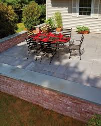 Backyard Brick Patio Design With Grill Station Seating Wall And by 112 Best Decorative Walls Images On Pinterest Decorative Walls