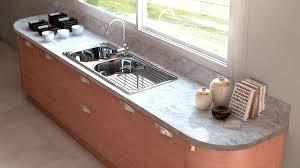meuble cuisine arrondi cuisine bois moderne askoia 1 par sagne cuisines