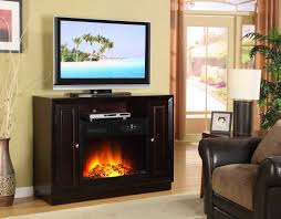 gas fireplace tv stand